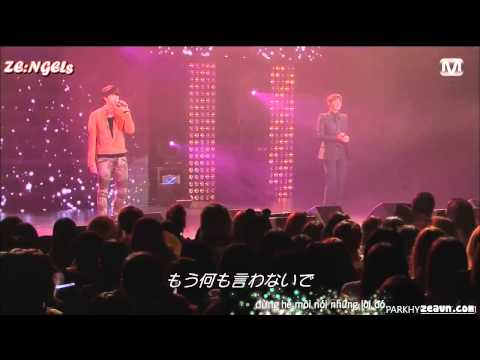 [Vietsub][ZEAVN] Don't say goodbye Hyungsik ft Kwanghee ( The 1st Empire of ZE:A 2012 in japan )