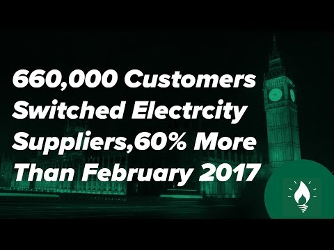 Energy Sector News  - Record Number of UK Customers Switch Energy Providers