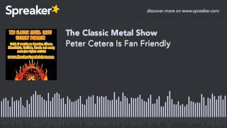 Peter Cetera Is Fan Friendly