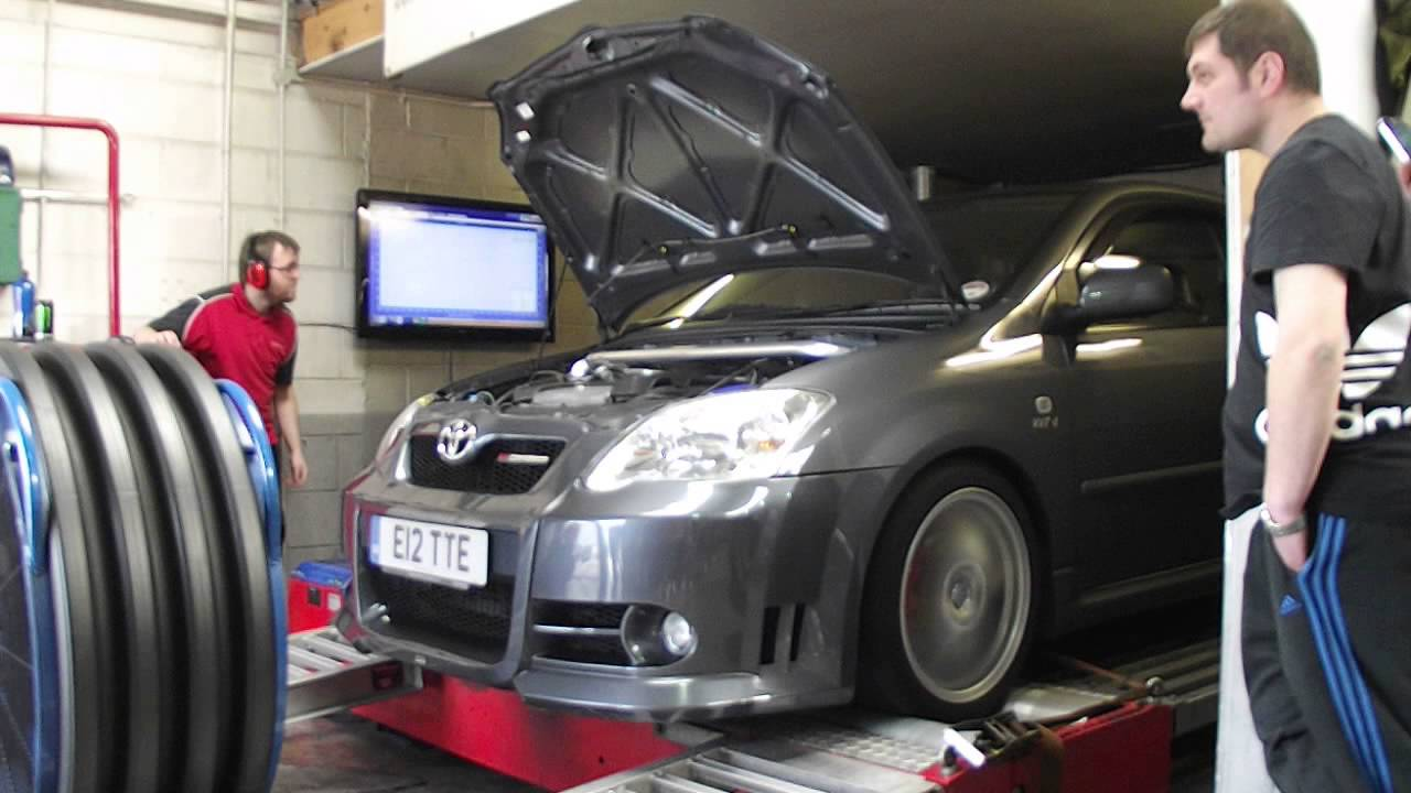 toyota corolla compressor t sport 2zz tte dyno rolling road supercharger Grand Prix Supercharger Kit