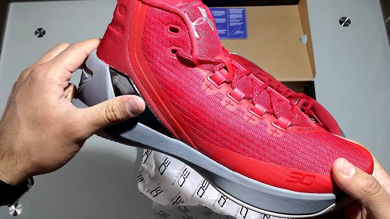 fffea9463d0f Unboxing Under Armour Stephen Curry 3 English continues raising your level!