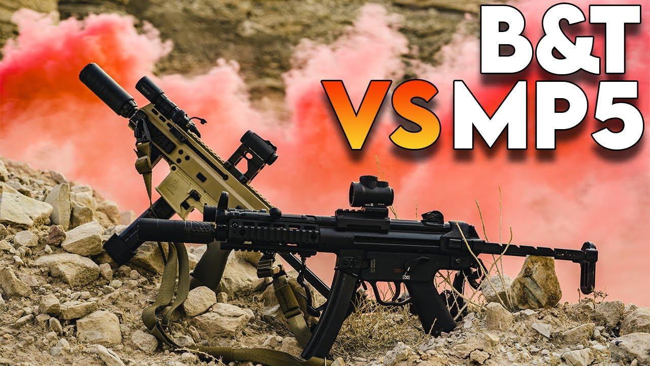 B&T vs MP5:  The Showdown