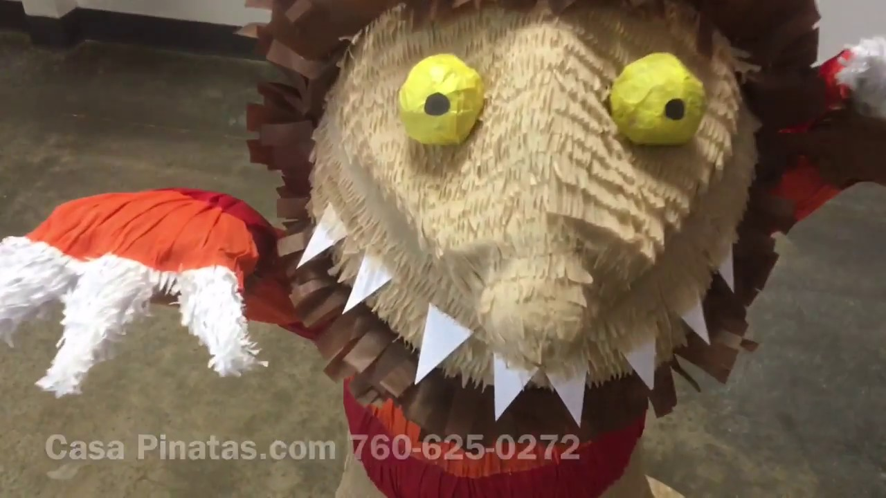 where the wild things are pinata birthday pinata youtube