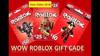 Roblox gift code , roblox gift code 2k18,
