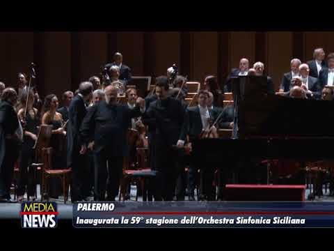 Inaugurata la 59°stagione dell'Orchestra Sinfonica Siciliana