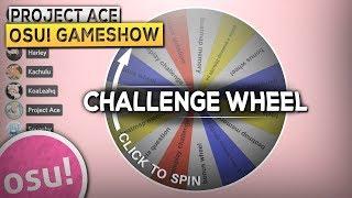 [osu! Gameshow] Challenge Wheel Edition