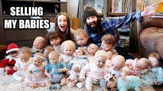 Selling My Reborns and Reborn Baby Doll Collection Update