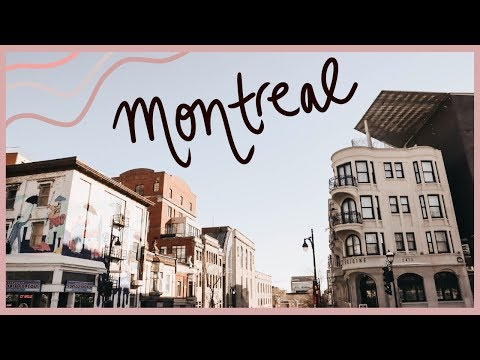 MONTREAL TRAVEL VLOG: Way Too Many Cafes