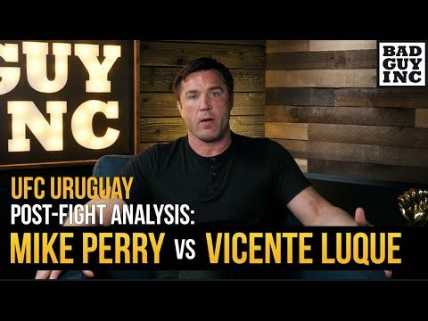 Was Vicente Luque vs. Mike Perry fight of the year?