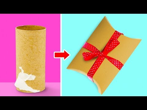 20 EASY AND CUTE GIFT WRAPPING IDEAS FOR...