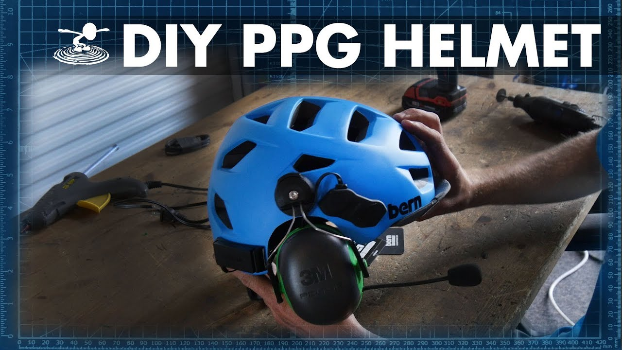 How to build your own Paramotor helmet