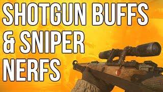 WW2 In Depth: Shotgun Buffs & Sniper Nerfs (Call of Duty: WWII)