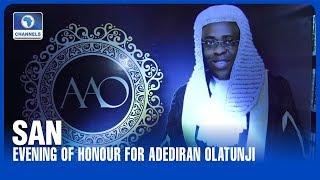 Evening Of Honour For  Adediran Olatunji