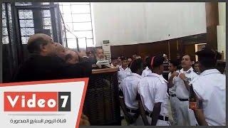 """حازم صلاح أبو إسماعيل للمحكمة: المتهمين خايفين أقول كلام ضدهم """"تحديث"""""""