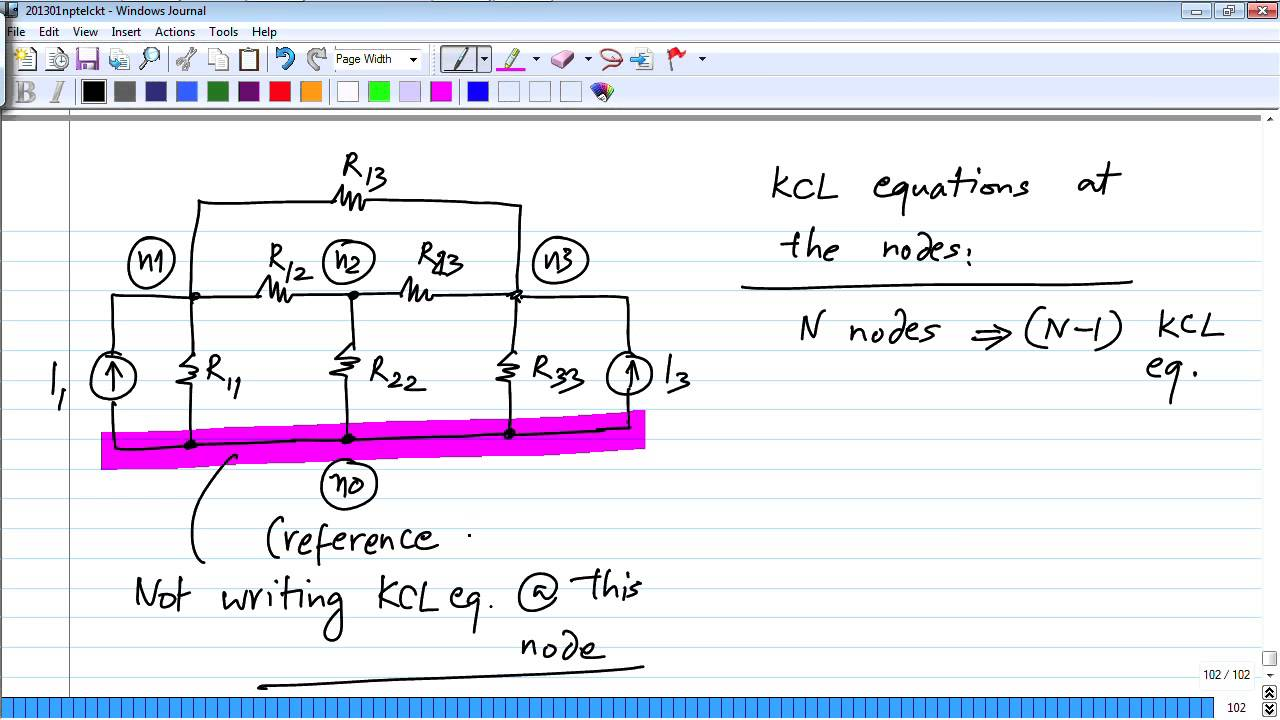 Mod 01 Lec 06 Circuit Analysis Number Of Kcl And Kvl Equations In A Sinewavegeneratorwithdigitalcontrol Basiccircuit Nodal Youtube