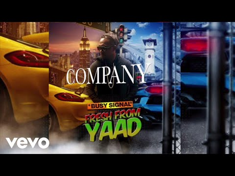 Busy Signal - Company (Audio)