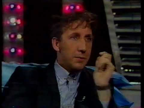Pete Townshend interview The Tube 1982 (with Uniforms video)