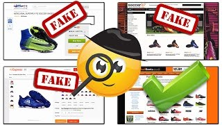 How to Avoid Fake Football Boots & Soccer Cleat Websites