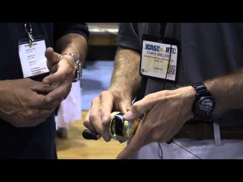 Shimano Calcutta Conquest Round Baitcasting Reels At ICAST 2014