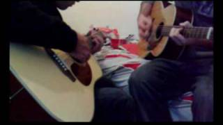 (Cover) Last Resort Papa Roach acoustic duet