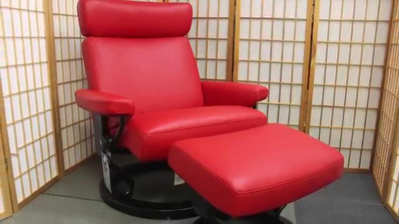 & Stressless Taurus   Ekornes Recliner   Chili Red - YouTube islam-shia.org