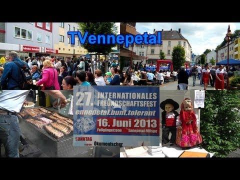 Ennepetal 27.internationalen Freundschaftsfest am 16.6.2013 TVennepetal