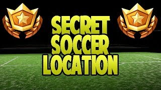 ALL SOCCER PITCH LOCATIONS - A SECRET SOCCER FIELD IN FORTNITE? Week 7 Challenge Tutorial!