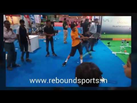 rebound sports @ Pune international sports expo 2016
