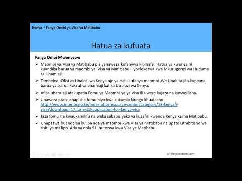 Kenya - Apply for a Medical Visa