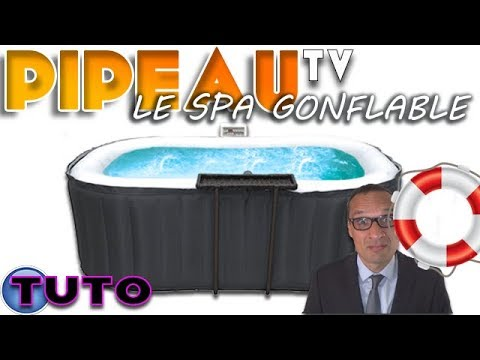 latest tuto le spa gonflable with jacuzzi intex gifi. Black Bedroom Furniture Sets. Home Design Ideas