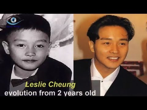 Leslie Cheung - Transformation From 2 To 46 Years Old