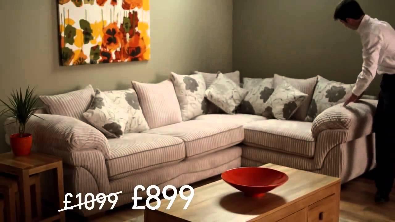 Oak Furniture Land - TV Ad (Harley Sofa) - YouTube