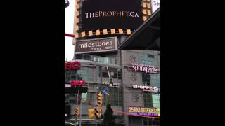 Muhammad(sa) The Prophet | Big Screen Young and Dundas | Innocence of Muslims Response