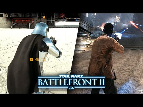 Download Youtube: Star Wars Battlefront 2 The Last Jedi DLC - Captain Phasma and Finn Multiplayer Gameplay!