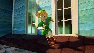 Majora's Mask Young Link | Hello Neighbor Mod