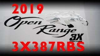 2019 Open Range 3X387RBS Fifth Wheel Review - UHD 4k thumbnail