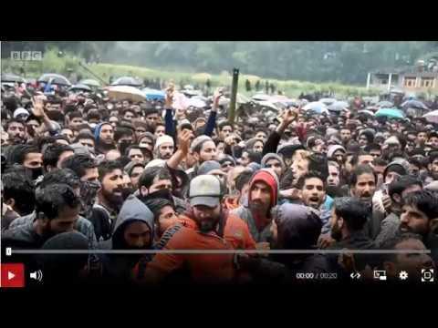 Zakir Musa: Thousands At Kashmir Militant's Funeral