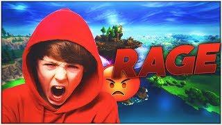 I made a kid cry and rage on fortnite... lmao