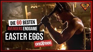 60 Avengers Endgame EASTER EGGS deutsch  onsXreen