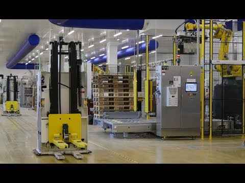 Intelligence and complete end-of-line solution to Intermarché plant