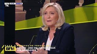 Marine Le Pen est « Face à BFM », revoir l'émission en intégralité
