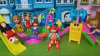 بلاش الملاهي ياتيتا🤯- تيتا راحت حديقة الألعاب - عائلة عمر - جنه ورؤى - كرتون العاب اطفال- عالم بامبي
