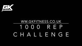 BODYWEIGHT   1000 REP CHALLENGE