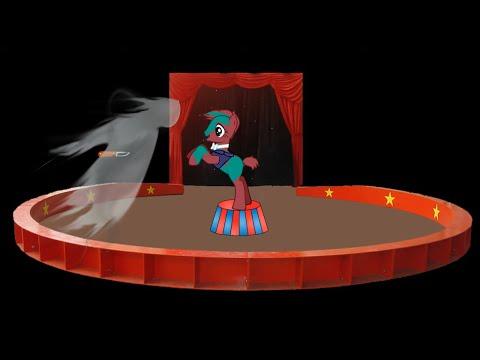 Пони страшилка Призрак клоуна