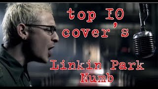 Linkin Park - Numb - top 10 covers