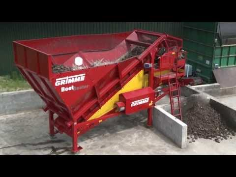 GRIMME BeetBeater | dry preparation of energy beets for biogas power plants