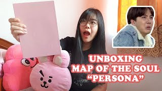 BTS MAP OF THE SOUL 'PERSONA' VERSI 1 UNBOXING! [ADUHHHHH!]