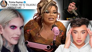 Trisha Paytas EXPOSED Jeffree Star and James Charles during the Frenemies podcast...