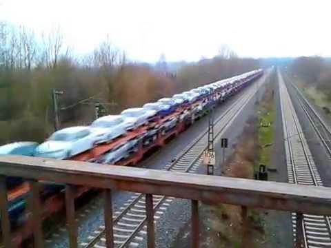 жд автовоз в Германии