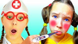Sick song | 동요와 아이 노래 | 어린이 교육 | Emi & Niki Kids Songs